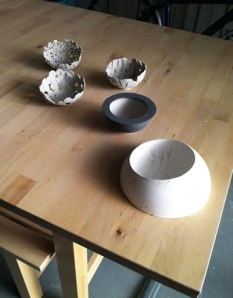 bowls and mold