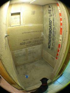shower cement board