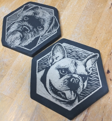 dog-tiles-hexagons